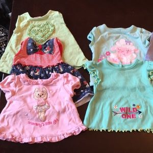 Other - *!!LOT!!* 0-9 month baby girl shirts